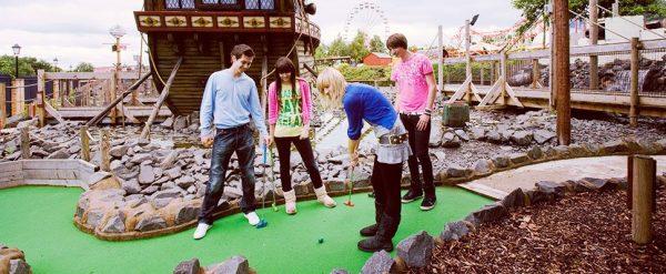 Devil's Island Adventure Golf at M&D's Scotland's Theme Park