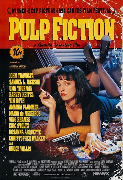 PULP FICTION (18) - Sun 31st Oct 9pm